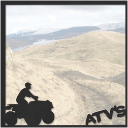 Xtreme Sports: ATV'S 12 x 12 Overlay Quick Page Laser Die Cut