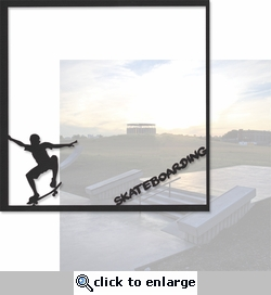 Xtreme Sports: Skateboarding 12 x 12 Overlay Quick Page Laser Die Cut