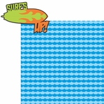 Xtreme: Surf's Up 2 Piece Laser Die Cut Kit