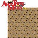 Yaaarrghh!: Ahoy There Matey 2 Piece Laser Die Cut Kit