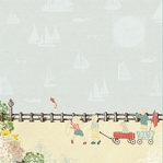 Yacht Club: Boardwalk 12 x 12 Double-Sided Paper