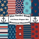 Yacht Club Paper Kit