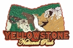 Yellowstone National Park Die Cut