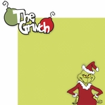 You're A Mean One: Mr. Grinch 2 Piece Laser Die Cut Kit