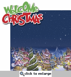 You're A Mean One: Welcome Christmas 2 Piece Laser Die Cut Kit