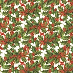 Yuletide Greetings: Holly 12 x 12 Single-Sided Cardstock
