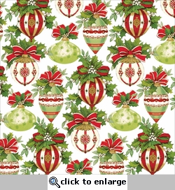 Yuletide Greetings: Ornaments 12 x 12 Single-Sided Cardstock