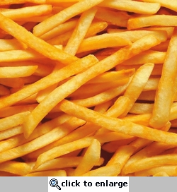 Yummy in my Tummy: French Fries 12 x 12 Paper