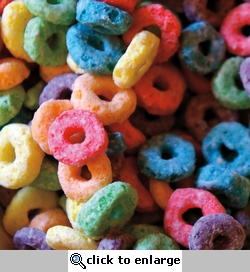 Yummy in my Tummy: Fruit Loops 12 x 12 Paper