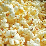 Yummy in my Tummy: Popcorn 12 x 12 Paper
