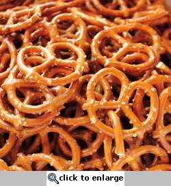 Yummy in my Tummy: Pretzels 12 x 12 Paper