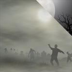 Zombies: Attack! 12 x 12 Double-Sided Cardstock