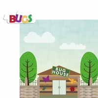 Zoo Days: Bug House 2 Piece Laser Die Cut Kit