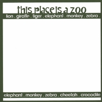 Zoo-fari: This Place Is A Zoo 12 x 12 Overlay Laser Die Cut
