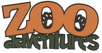 Zoo-fari: Zoo Adventures Laser Die Cut