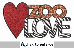 Zoo Love Laser Die Cut