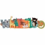 Zoo Stacked Statement 3-D Title Sticker
