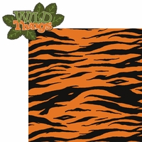 Zoo Tales: Wild Things 2 Piece Laser Die Cut Kit