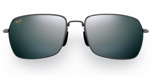 Maui Jim High Tide Sunglasses - Gunmetal & Black / Grey Polarized