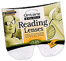 Removeable Reading Lenses