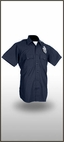 100% Worsted Wool LAPD Short Sleeve Shirt Police Uniform, Our Police Department Uniform Has Plain Rounded Pockets, Scalloped Flaps, Hook & Loop Closures- Please Specify Size At Comments Section At Checkout