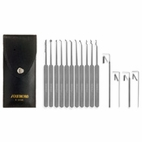 15 Piece Slim Line Lock Pick Set - C1510, 15 Piece Lock Pick Set
