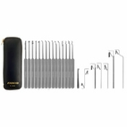 22 Piece Slim Line Lock Pick Set - C2010, 22 Piece Lock Pick Set