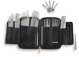 62 Pro Lockpick Kit w/ metal handles