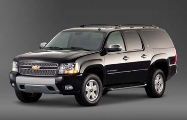 Armored Chevy Suburban (Armoring only)