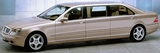 Armored Mercedes Pullman Level B6, Bullet Proof Limousine