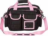 Black and Pink Tactical Range Bag