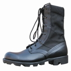 Black Jungle Boot - Steel Shim Spike Protection - Large orders