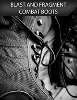 Blast and Fragment Resistant Combat Boot