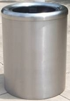 BXB; Bomb Explosion Bin : Explosion Resistant Trash Receptacles (bomb proof bins)