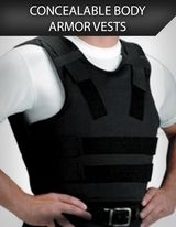 Concealable Body Armor Vests