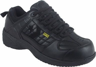Reebok C1865 MEN'S EH, SR, BLACK ATHLETIC OXFORD, STEEL TOE