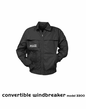 Convertible Windbreaker Model 3300 Ballistic Jacket