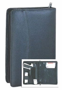 Disguisable Pistol Case, Leather Pistol Case, Concealment Case