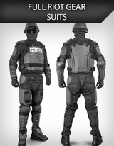Full Riot Gear Suits