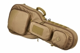 Hazard 4 BattleAxe Guitar-shaped Padded Rifle Case Coyote
