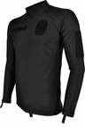 Hazard 4 Combat Seal Fleece Lycra Rashguard Black