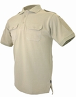 Hazard 4 LEO Uniform Replacement Battle Polo Tan