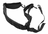 Hazard 4 Padded Shoulder Strap w/ Stabilizer Strap Black
