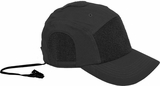 Hazard 4 Privateer Panel Cap (Cotton) Black
