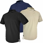 Hazard 4 Undervest Plain Front Battle Polo APR-UDV