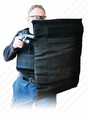 KDH Mobile Defensive Ballistic Shield - Rapid Deployment Shield - Level IIIA