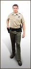 LA County Sheriff Department Short Sleeve Shirt