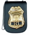 Perfect Fit Universal neck badge & ID holder with chain 705