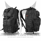 Rebel Tactical 3 Day Assault Backpack 26 w/ Free Paracord Knife