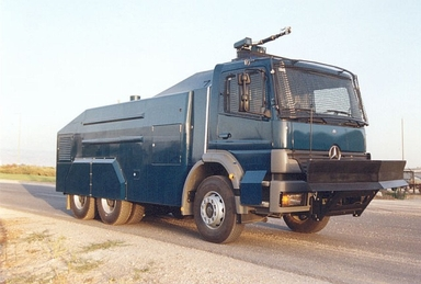 Riot Control Vehicle Model SECPRO 7500 on MB Chassis